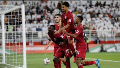 صورة قطر تبلغ النهائي لأول مرة في كأس آسيا