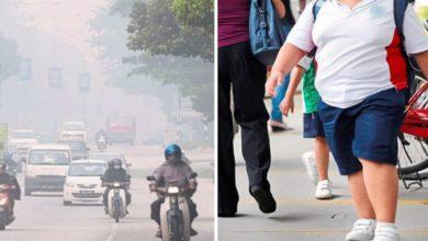 صورة تلوث الهواء يهدد بالسمنة