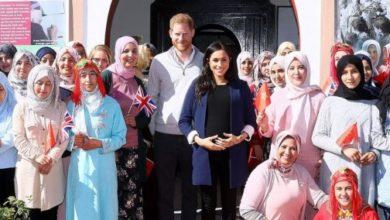 صورة تفاصيل زيارة أمير بريطانيا وزوجته ميغان لدار الفتاة بآسني ضواحي مراكش… بالصور
