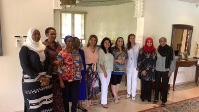 صورة تحت الرعاية السامية لصاحب الجلالة، الدورة الحادية عشر من معرض دار المعلمةوالدورة الثانية لمؤتمر النساء الحرفيات الإفريقيات