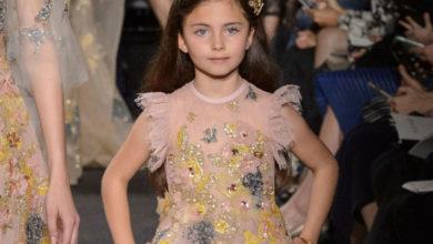 صورة ELIE SAAB JUNIOR  للأطفال نصيب من الموضة الراقية