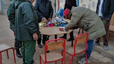 صورة سلطات خريبكة والإتلاف المغربي للصحة والبيئة ينخرطون في حماية اللاجئين الأفارقة من جائحة كوفيد 19