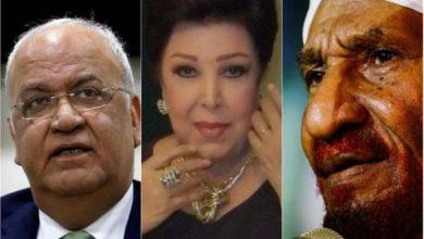صورة أبرز المشاهير العرب الذين فارقوا الحياة جراء الإصابة بفيروس كورونا