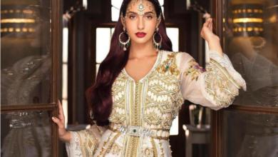 صورة القفطان المغربي يلهم الموضة العالمية