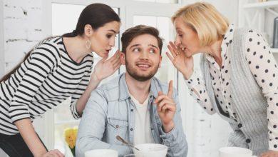 صورة لماذا يقارن الزوج بين زوجته وأمه؟