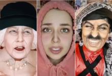 صورة فنانة أردنية تطوّع مساحيق التجميل لتبدع في فن تقمص الشخصيات