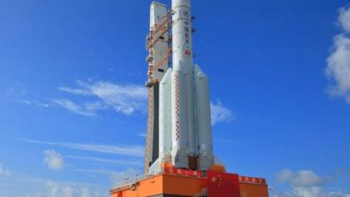 صورة أميركا تحدد الدولة التي سيسقط فيها الصاروخ الصيني