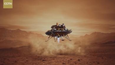 صورة إنزال تاريخي.. الصين تنجح في الهبوط على المريخ من المحاولة الأولى