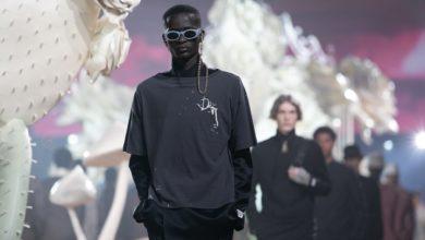 """صورة أزياء """"Dior"""" الرجالية لصيف 2022 بنفحة أميركية"""