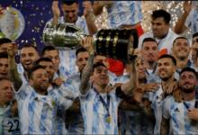 """صورة المنتخب الأرجنتيني يهزم البرازيل ويحرز أول لقب لـ""""كوبا أمريكا"""" منذ 28 سنة"""