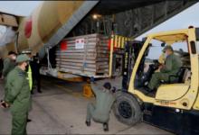 """صورة ثلاث طائرات عسكرية محملة بمساعدات """"كورونا"""" تتوجه صوب تونس"""
