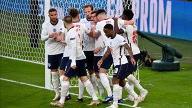 صورة بطولة أمم أوربا… إنجلترا تتأهل إلى النهائي على حساب الدانمارك وتضرب موعدا مع إيطاليا