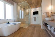 صورة أفكار سهلة وغير مكلفة لتحسين فضاء الحمام